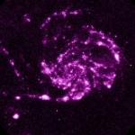 M101 : une vue en ultraviolets