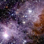 La nébuleuse de la Carène en infrarouge
