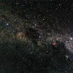 La Voie Lactée près de la Croix du Sud
