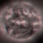 Soleil stéréoscopique