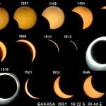 Séquence de l'éclipse de Bakasa