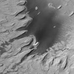D'anciennes strates rocheuses sur Mars