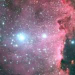 Des étoiles chaudes dans le sud de la Voie Lactée -