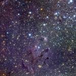 M 16 : étoiles, piliers et oeufs d'Aigle