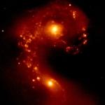Les Galaxies des Antennes en proche infrarouge