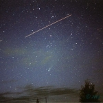 La comète Ikeya-Zhang rencontre l'ISS