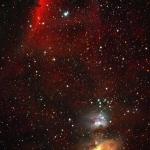 Les nébulosités d'Orion