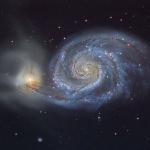 M51: le tourbillon cosmique
