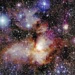 La région de formation d'étoiles RCW38 par 2MASS