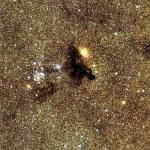 L'amas ouvert NGC6520 par le CFHT