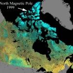 Les pôles magnétiques de la Terre