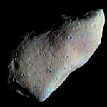 Le meilleur profil de l'astéroïde Gaspra