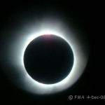 Eclipse solaire au Zimbabwe