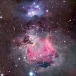 Les nuages colorés d'Orion