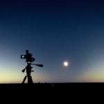 Le cône d'ombre d'une éclipse totale de Soleil