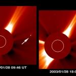 Comète Kudo-Fujikawa: quelques jours au Soleil