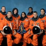 La navette spatiale et son équipage perdu lors de son retour