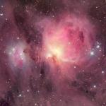 M42: les nuages de la Nébuleuse d'Orion