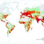 Où les gens vivent-ils sur Terre