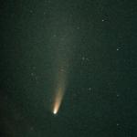 La comète NEAT dans le ciel austral