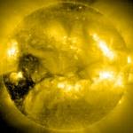 Trous coronaux sur le Soleil