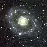 Galaxie spirale dans le Centaure