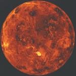 Le pôle nord de Vénus