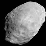 La lune martienne Phobos par MGS