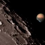Mars au bord de la Lune