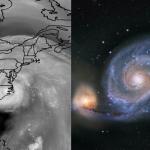 Les spirales logarithmiques d'Isabel et de M51