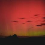 Une aurore dans le ciel du Colorado