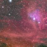 IC405: la Nébuleuse de l'Etoile Flamboyante