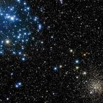 Les amas d'étoiles M35 et NGC2158