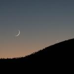 Vénus et une Lune de 37 heures