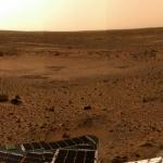 Sol 5, carte postale de Mars