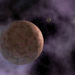 Sedna du système solaire extérieur
