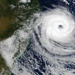 Cyclone d'une rare intensité au large des côtes brésiliennes
