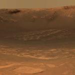 Le cratère Endurance sur Mars