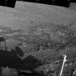 Le rover Spirit à Engineering Flats sur Mars