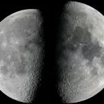 Lune à l'apogée et au périgée