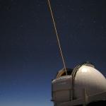 Un télescope laser crée une étoile artificielle
