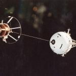 Un câble dans l'espace