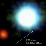 La première image d'une planète extrasolaire -