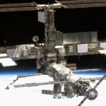 La station spatiale internationale depuis on orbite