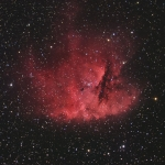 NGC281: la nébuleuse Pacman