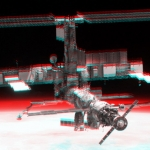 La station spatiale internationale en 3D