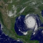 L'ouragan Katrina dans le Golfe du Mexique