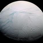 Zébrures fraîches sur Encelade