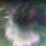 Aurores boréales dans le ciel de septembre