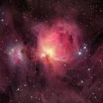 M 42 : les nuages de la Nébuleuse d'Orion